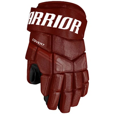 Maroon (Warrior Covert QRE4 Hockey Gloves - Junior)