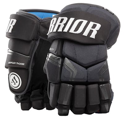 Navy (Warrior Covert QRE4 Hockey Gloves - Junior)