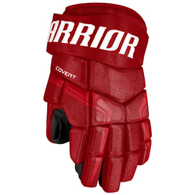 Red (Warrior Covert QRE4 Hockey Gloves - Junior)