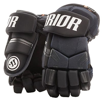 Navy (Warrior QRE 4 Youth Hockey Gloves - Youth)