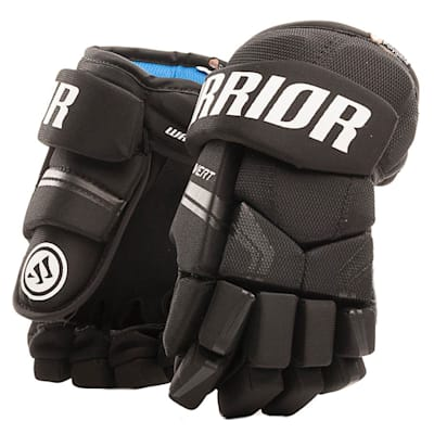 Black (Warrior QRE 4 Youth Hockey Gloves - Youth)