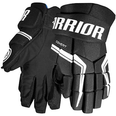 Black (Warrior Covert QRE5 Hockey Gloves - Junior)