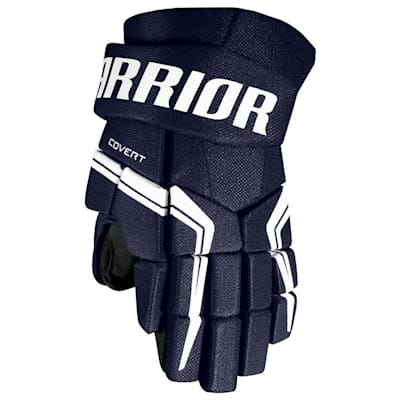 Navy (Warrior Covert QRE5 Hockey Gloves - Junior)