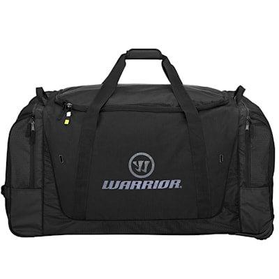 Black/Grey (Warrior Q20 Cargo Wheel Hockey Bag - Large - Senior)