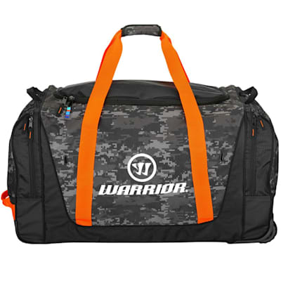 Camo Black (Warrior Q20 Cargo Wheel Hockey Bag - Large - Senior)