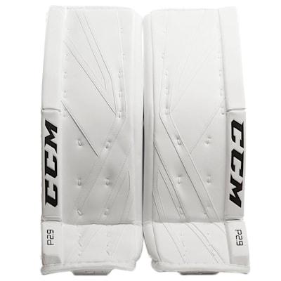 White/White (CCM Premier P2.9 Goalie Leg Pads - Intermediate)