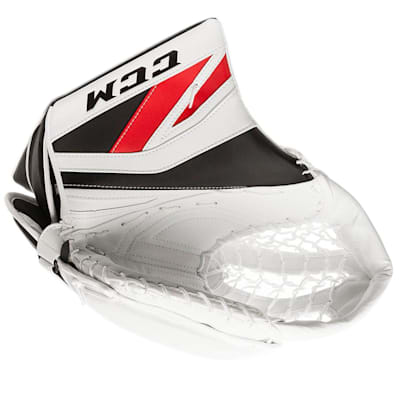 White/Red/Black (CCM Premier P2.9 Goalie Catch Glove - Intermediate)