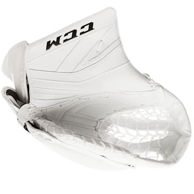 White/White (CCM Premier P2.9 Goalie Catch Glove - Intermediate)