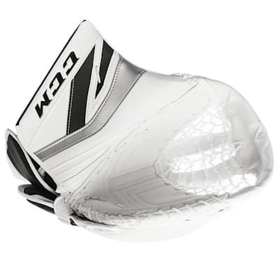 White/Black/Sliver (CCM Premier P2.9 Goalie Catch Glove - Senior)
