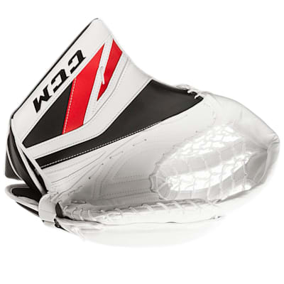 White/Red/Black (CCM Premier P2.9 Goalie Catch Glove - Senior)