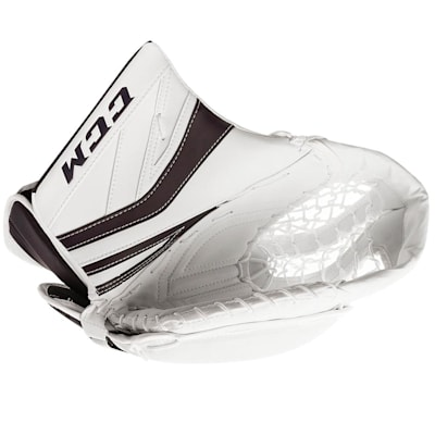 White/Navy (CCM Premier P2.9 Goalie Catch Glove - Senior)