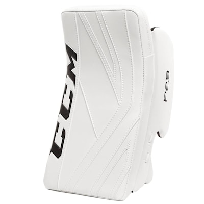 White/White (CCM Premier P2.9 Goalie Blocker - Intermediate)