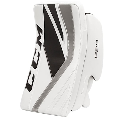 White/Black/Silver (CCM Premier P2.9 Goalie Blocker - Senior)
