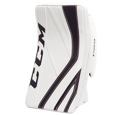 White/Navy (CCM Premier P2.9 Goalie Blocker - Senior)