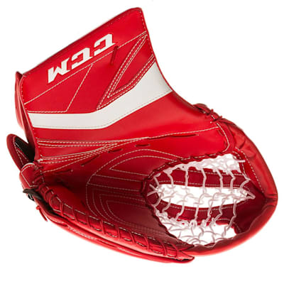 Red/White (CCM Premier P2.5 Goalie Catch Glove - Junior)