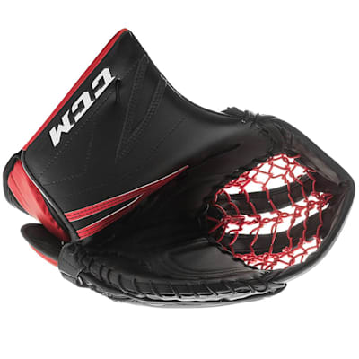 Black/Red (CCM Premier P2.5 Goalie Catch Glove - Junior)