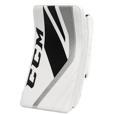 White/Black/Silver (CCM Premier P2.5 Goalie Blocker - Junior)