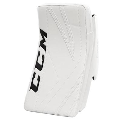 White/White (CCM Premier P2.5 Goalie Blocker - Junior)