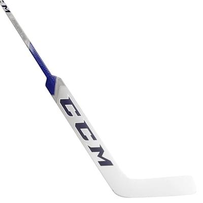 White/Blue (CCM Premier P2.9 Composite Goalie Stick - Intermediate)