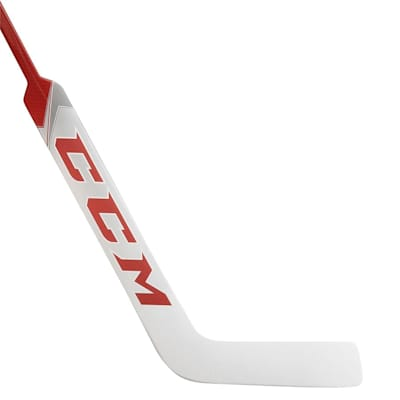 White/Red (CCM Premier P2.5 Composite Goalie Stick - Intermediate)