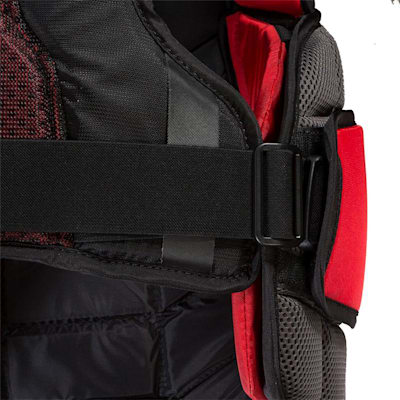 Clips (CCM Extreme Flex Shield II Goalie Chest And Arm Protector - Senior)