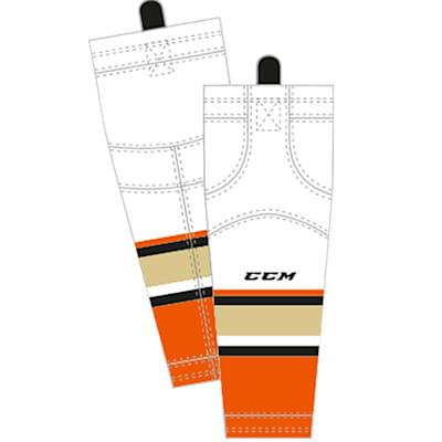 Away (CCM SX8000 Game Sock - Anaheim Ducks - Intermediate)