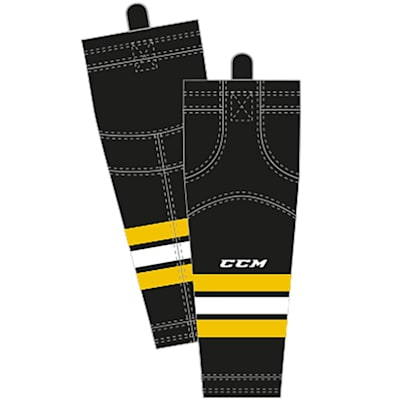 Home (CCM SX8000 Game Sock - Boston Bruins - Intermediate)