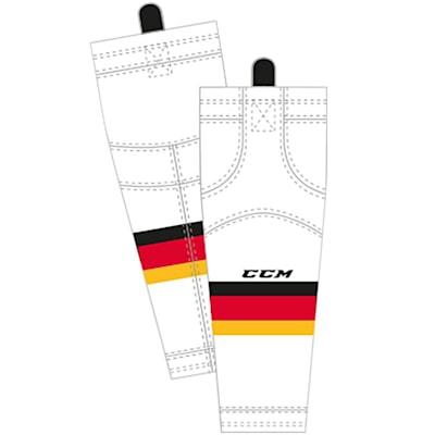 Away (CCM SX8000 Game Sock - Calgary Flames - Junior)