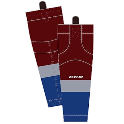 Home (CCM SX8000 Game Sock - Colorado Avalanche - Intermediate)