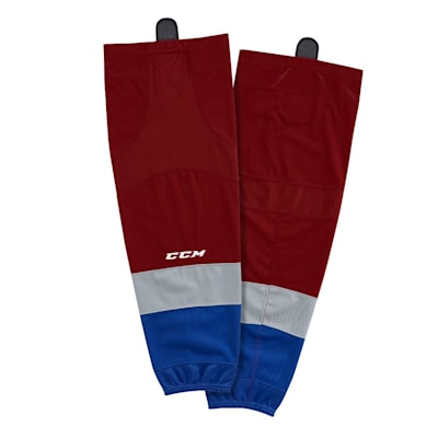 Home (CCM SX8000 Game Sock - Colorado Avalanche - Intermediate)