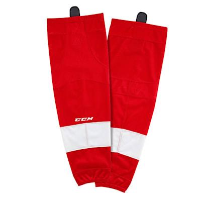 Home (CCM SX8000 Game Sock - Detroit Red Wings - Intermediate)