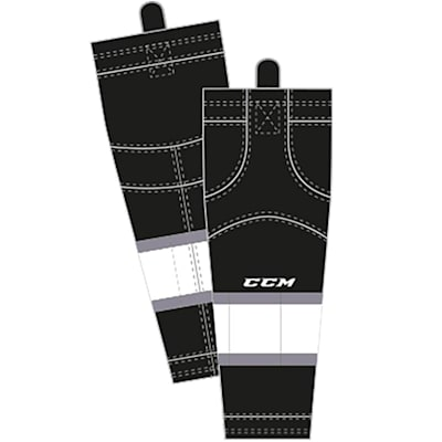 Home/Dark (CCM SX8000 Game Sock - Los Angeles Kings - Junior)