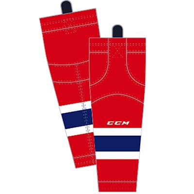 Home/Dark (CCM SX8000 Game Sock - Montreal Canadiens - Junior)