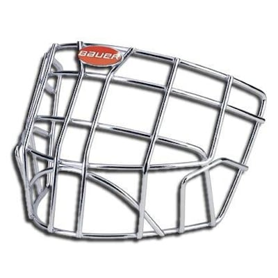 Chrome (Bauer Profile 1200/2500 Goalie Cage - Junior)