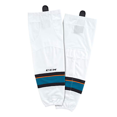 Away (CCM SX8000 Game Sock - San Jose Sharks - Intermediate)