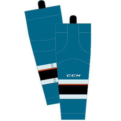 Home/Dark (CCM SX8000 Game Sock - San Jose Sharks - Senior)