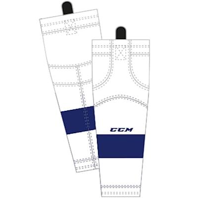 Away/White (CCM SX8000 Game Sock - Tampa Bay Lighting - Intermediate)