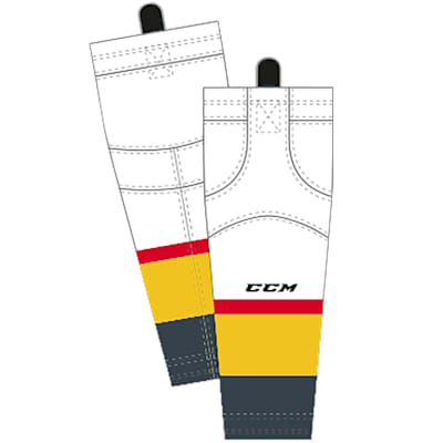 Away/White (CCM SX8000 Game Sock - Vegas Golden Knights - Intermediate)