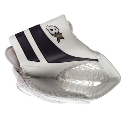 White/Navy (Brians GNETiK Pure™ Goalie Catch Glove - Senior)