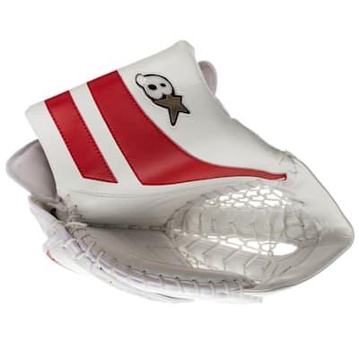 White/Red (Brians GNETiK Pure™ Goalie Catch Glove - Senior)