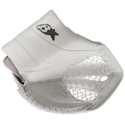 White/White (Brians GNETiK Pure™ Goalie Catch Glove - Senior)