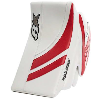 White/Red (Brians GNETiK Pure™ Goalie Blocker - Junior)