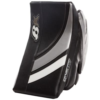 Black/White/Silver (Brians GNETiK Pure™ Goalie Blocker - Intermediate)