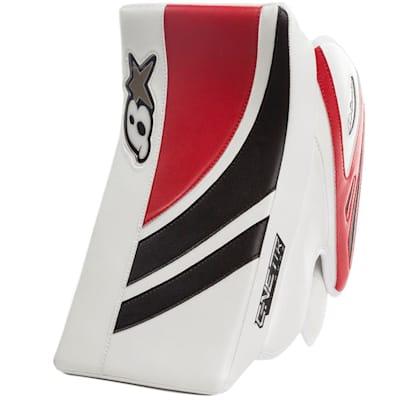 White/Black/Red (Brians GNETiK Pure™ Goalie Blocker - Intermediate)