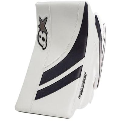 White/Navy (Brians GNETiK Pure™ Goalie Blocker - Intermediate)