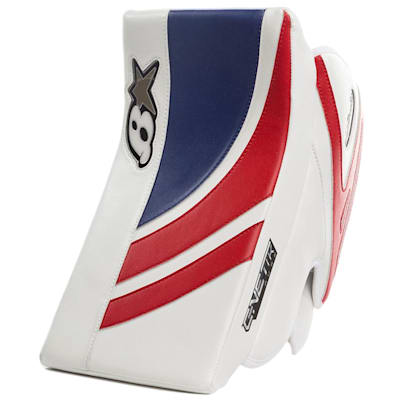 White/Blue/Red (Brians GNETiK Pure™ Goalie Blocker - Senior)