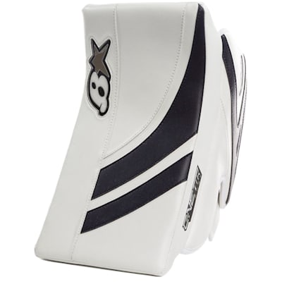 White/Navy (Brians GNETiK Pure™ Goalie Blocker - Senior)