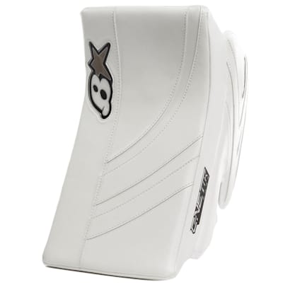 White/White (Brians GNETiK Pure™ Goalie Blocker - Senior)