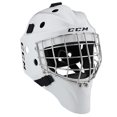 White (CCM 1.5 Goalie Mask - Junior)