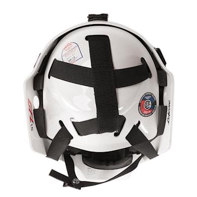Back (CCM 1.5 Goalie Mask - Junior)